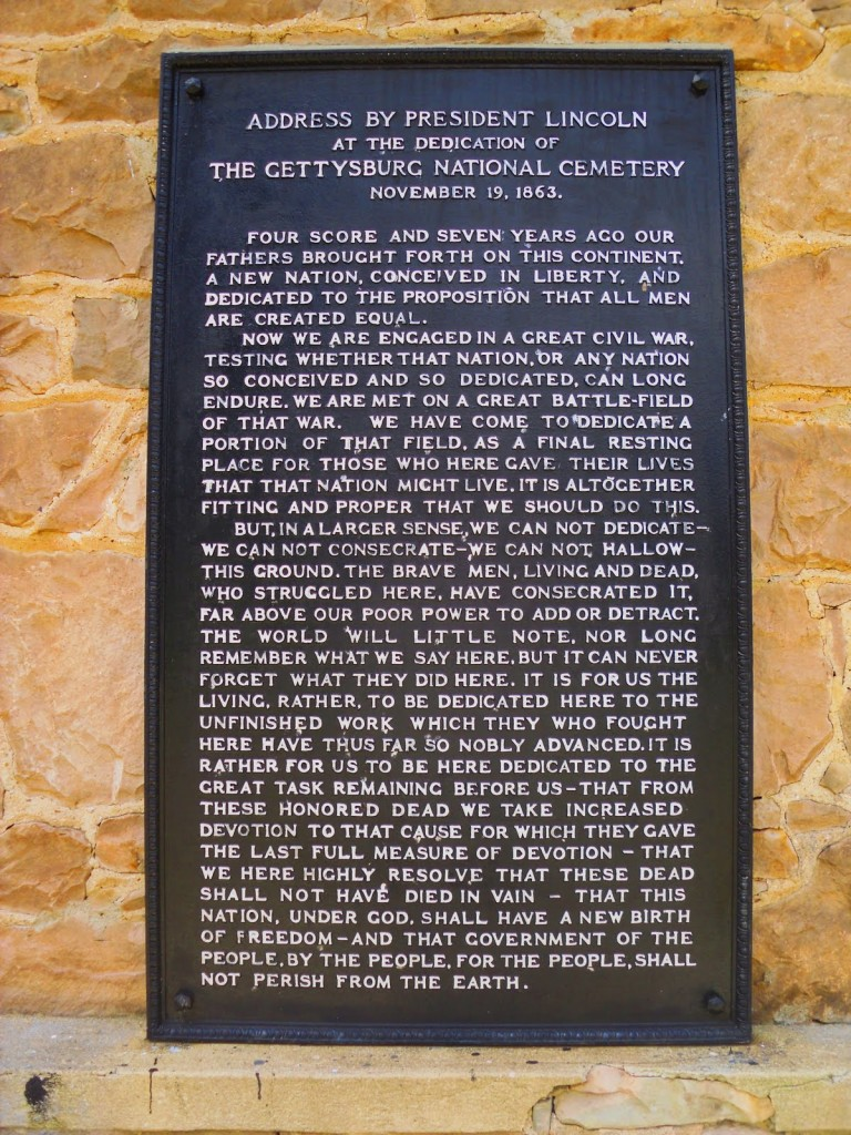 gettysburg address ourvoices print friendly